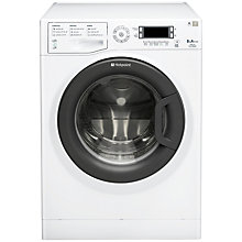 Buy Hotpoint Signature WMUD843BC Washing Machine, 8kg Load, A+++ Energy Rating, 1400rpm Spin, White Online at johnlewis.com