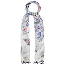 Buy White Stuff Parasol Scarf, Off White Online at johnlewis.com