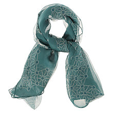 Buy NW3 by Hobbs Daisy Scarf, Lichen Online at johnlewis.com