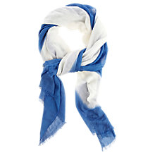 Buy Oasis Ombre Bordered Scarf Online at johnlewis.com