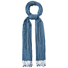 Buy White Stuff Street Scarf, Mosaic Blue Online at johnlewis.com