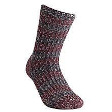 Buy Totes Stripe Space Dye Slipper Socks Online at johnlewis.com