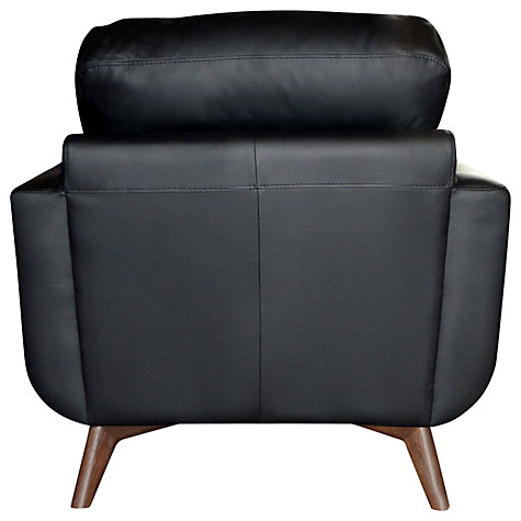 Buy John Lewis Barbican II Leather Armchair Online at johnlewis.com
