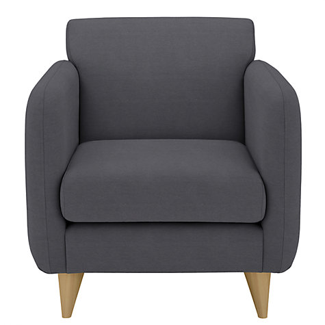 Buy House by John Lewis Eton Armchair, Eva Graphite Online at johnlewis.com