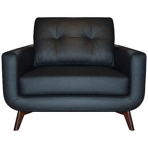Buy John Lewis Barbican II Leather Sofa Range Online at johnlewis.com