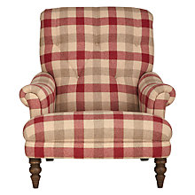 Buy John Lewis Gibson Armchair, Rupert Crimson Online at johnlewis.com