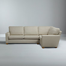 Buy John Lewis Gino RHF Corner Sofa, Checkmate Mole Online at johnlewis.com