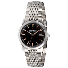 Buy Dreyfuss & Co DGB00004/04 Men's Stainless Steel Watch, Black / Silver Online at johnlewis.com