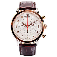 Buy 88 Rue Du Rhone 87WA120057 Unisex Chronograph Watch, Rose Gold Online at johnlewis.com