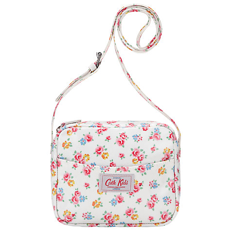 Buy Cath Kidston Freston Rose Handbag, White/Multi Online at johnlewis.com