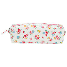 Buy Cath Kidston Freston Rose Pencil Case, White/Multi Online at johnlewis.com