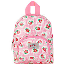 Buy Cath Kidston Lattice Rose Rucksack, Pink Online at johnlewis.com