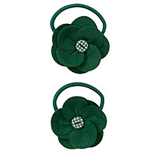 Buy John Lewis Girl Flower Hair Bands, Pack of 2 Online at johnlewis.com