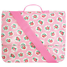 Buy Cath Kidston Lattice Rose School Satchel, Pink Online at johnlewis.com