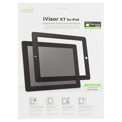 Buy Moshi iVisor XT Screen Protector for 2nd, 3rd & 4th Generation iPad Online at johnlewis.com