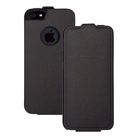 Buy Moshi Concerti Flip Case for iPhone 5 & 5s, Black Online at johnlewis.com