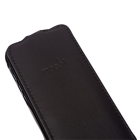 Buy Moshi Concerti Flip Case for iPhone SE/5s/5, Black Online at johnlewis.com