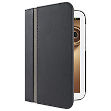 Buy Belkin Cinema Stripe Folio Case for Samsung Galaxy Note 8.0, Black Online at johnlewis.com