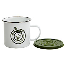Buy Scout Enamel Mug With Lid Online at johnlewis.com