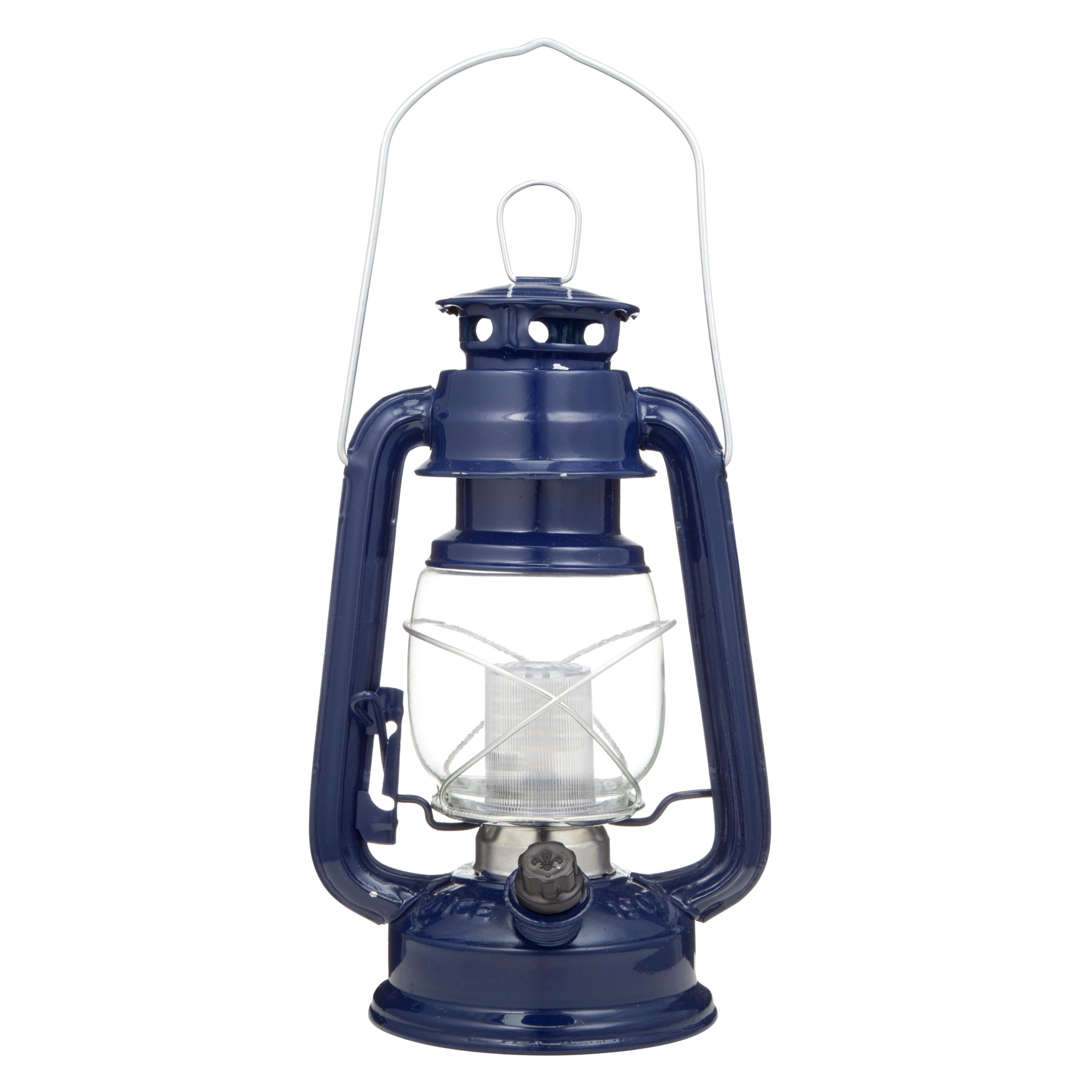 Scouting LED Lantern, Blue, Large