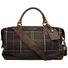 Buy Barbour Lochy Tartan Explorer Holdall, Multi Online at johnlewis.com