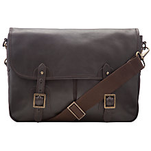 Buy John Lewis Oxford Leather Messenger Bag Online at johnlewis.com