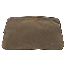 Buy John Lewis Milano Wash Bag, Olive Online at johnlewis.com