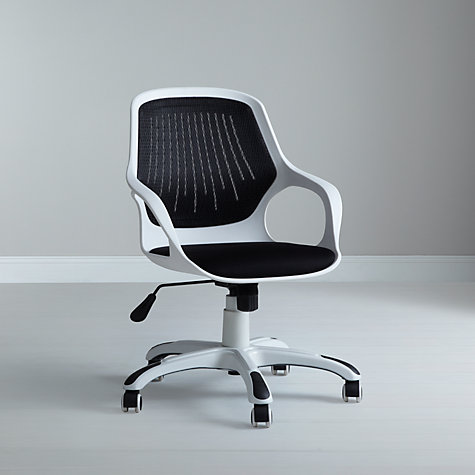 Buy John Lewis Wade Office Chair, Black Online at johnlewis.com