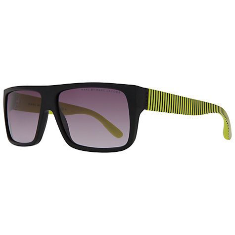 Buy Marc by Marc Jacobs MJ096/N/S V0Q  Square Framed Sunglasses, Black Online at johnlewis.com