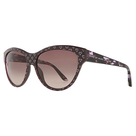 Buy Marc by Marc Jacobs MJ280/sS XOC-J6 Heart Print Acetate Frame Sunglasses Online at johnlewis.com