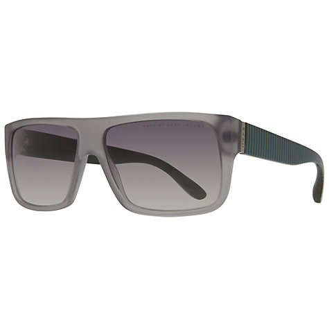 Buy Marc by Marc Jacobs MMJ096/N/S Square Sunglasses, Purple Online at johnlewis.com