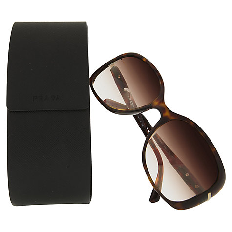 Buy Prada PR08OS Oversized Square Framed Sunglasses Online at johnlewis.com