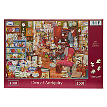 Buy House of Puzzles Den of Antiquity 1000 Piece Jigsaw Puzzle Online at johnlewis.com