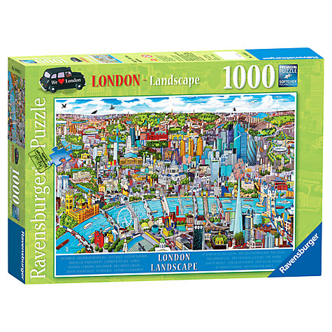 Buy Ravensburger London Landscape 1000 Piece Puzzle Online at johnlewis.com