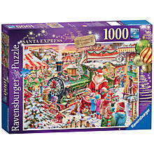 Buy Ravensburger Father Christmas Express 1000 Piece Jigsaw Puzzle Online at johnlewis.com