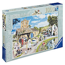 Buy Ravensburger The Sunday Service 1000 Piece Puzzle Online at johnlewis.com