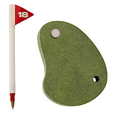 Buy Bluesky 18th Hole Memo Pad Online at johnlewis.com