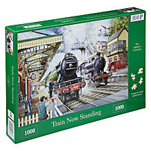 Buy House of Puzzles Train Now Standing 1000 Piece Puzzle Online at johnlewis.com