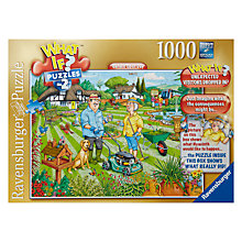 Buy Ravensburger What If In The Garden 1000 Piece Puzzle Online at johnlewis.com