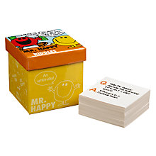 Buy Mr Men Box Trivia Mr Happy Riddles Online at johnlewis.com