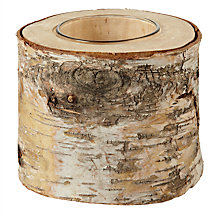 Buy Broste Birch Tealight Holder Online at johnlewis.com