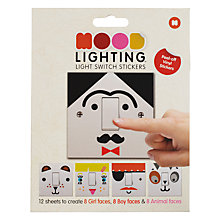 Buy Mustard Mood Lighting Light Switch Stickers Online at johnlewis.com