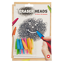 Buy Mustard Eraser Pencil Heads Online at johnlewis.com