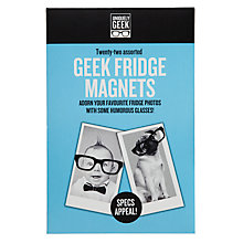 Buy Ginger Fox Geek Magnets, Pack of 22 Online at johnlewis.com