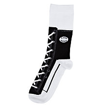 Buy Bluw Sneaker Socks, Black Online at johnlewis.com
