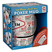 Buy Ginger Fox Texas Hold 'em Poker Mug Online at johnlewis.com