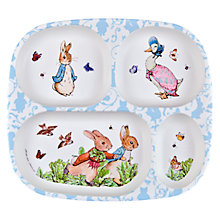 Buy Peter Rabbit Melamine Tray Online at johnlewis.com