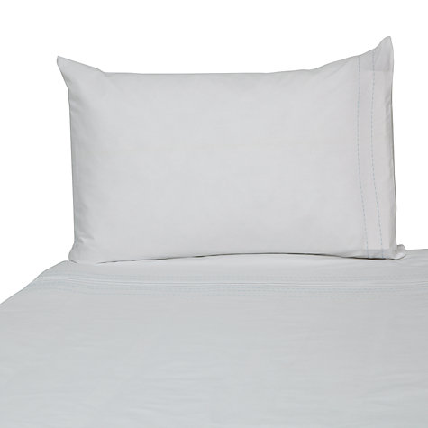 Buy John Lewis Baby Duvet Cover and Pillowcase Set, Baby Blue Online at johnlewis.com