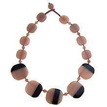 Buy Lola Rose Harbor Split Stone Graduated Necklace Online at johnlewis.com