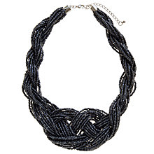 Buy John Lewis Hematite Beaded Necklace Online at johnlewis.com